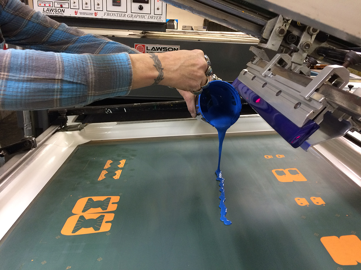 screen printing color matching nu art graphics