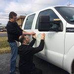 Application of vinyl decal