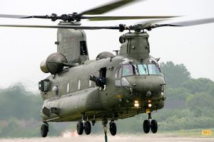 Nu-Art Graphics, Inc. produces decals for the USMC Chinook CH-47. Photograph used with permission.