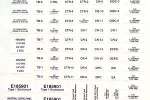 Screen printed, die cut Decal Kit (sheet)