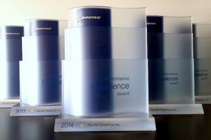Our 5th consecutive Boeing Performance Excellence Award