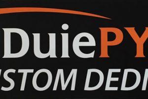 Screen-printed fleet graphics with logo